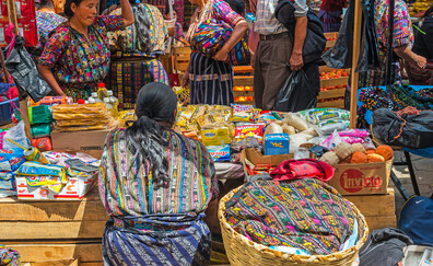 Paseo por el mercado de Chichicastenango