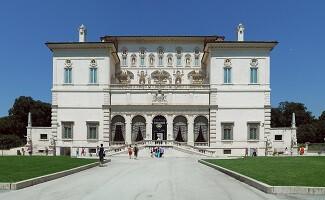Eine Bootsfahrt zur Villa Borghese, Rom