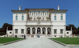 Um passeio de barco na Villa Borghese, Roma