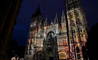 Kathedrale Notre-Dame in Rouen, gotisches Wahrzeichen