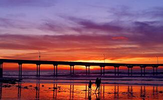 Les plages de San Diego