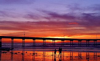 Le spiagge di San Diego