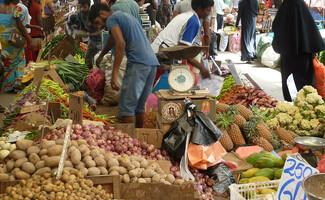 Le bazar de Pettah