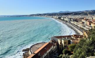 Promenade des Anglais, in Nice