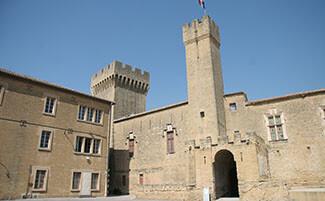 Salon, Nostradamus' house and Château de l'Empéri