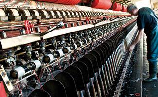 Filature de laine, Arpin