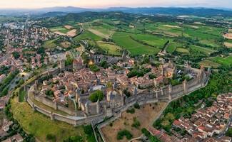 Carcassonne, a maior fortaleza da Europa