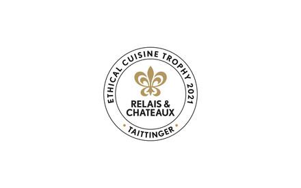 Relais & Châteaux et Taittinger attribuent le trophée «Ethical cuisine 2021» au  chef Bart De Potter du restaurant gastronomique Pastorale situé à Rumst en Belgique