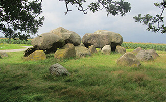 The dolmens of Drenthe