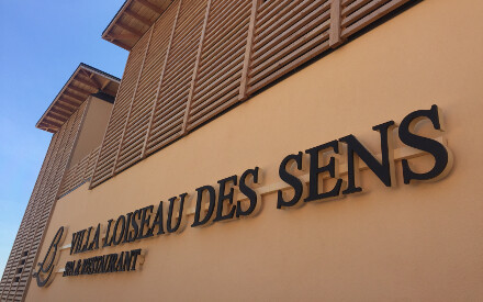 The Relais Bernard Loiseau is equipped with a 1500 m2 spa.