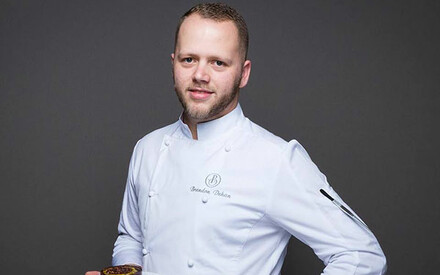 The Michelin Guide awards Brandon Dehan of L'Oustau de Baumanière