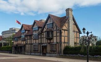 Maison natale de Shakespeare, Stratford-upon-Avon