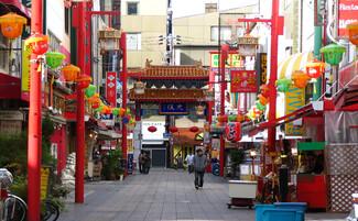 El barrio chino de Kobe