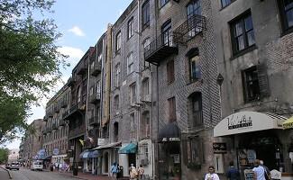 Quartier historique de Savannah, Géorgie