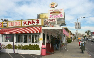 Gli Hot Dogs di Pink's, Los Angeles