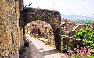 Mirmande, ein malerisches Dorf im Rhône-Tal
