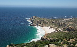 Right to the edge, the Cape of Good Hope