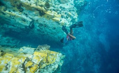 Um mergulho longe dos vulcões