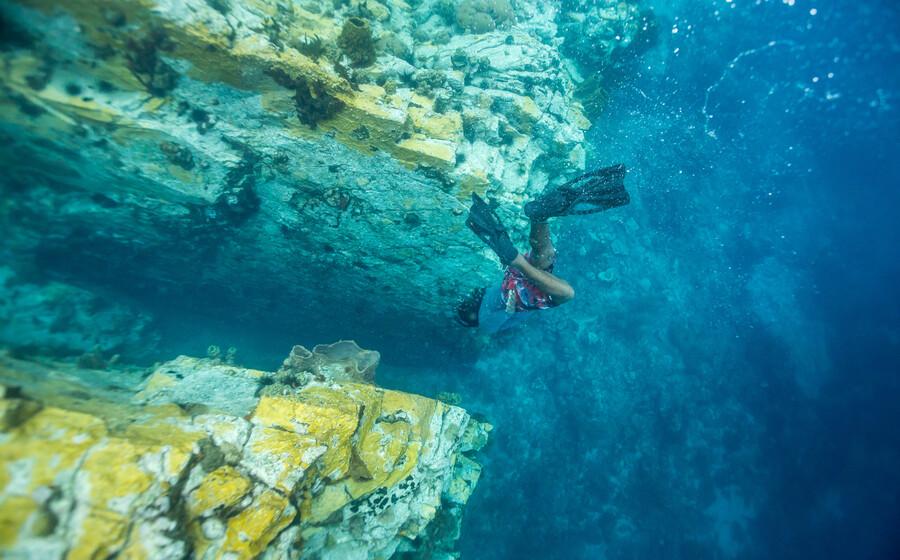 Plongée et fonds marins