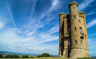 Broadway Tower, the highest castle in the Cotswolds