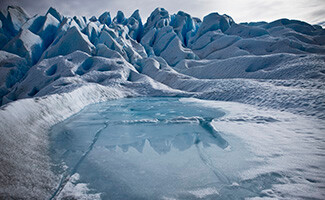 Il ghiacciaio Perito Moreno, provincia di Santa Cruz