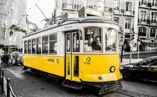 A ticket for Tram n°28, Lisbon