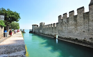 View of the lake from Sirmione