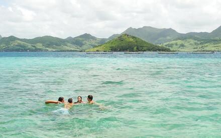 Petits nageurs :|l'Océan Indien pour les enfants