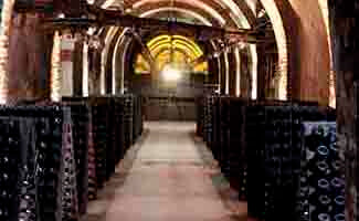Pommery cellars, Reims
