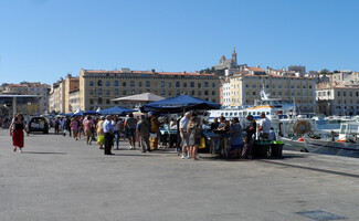 At the fish market in the Old Port, Marseille