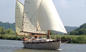 Un paseo en velero, La Roche Bernard
