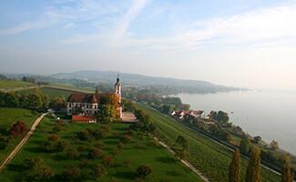 Birnau's baroque church