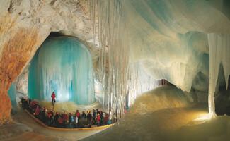 Eisriesenwelt, grotte féérique