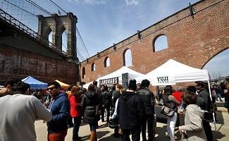 Smorgasburg, ярмарка уличной еды в Бруклине