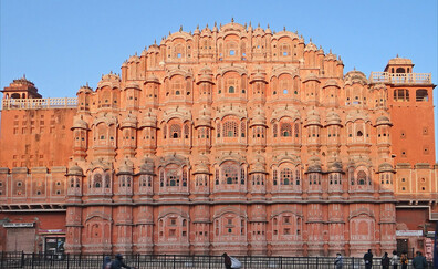 "Hawa Mahal, the ""Palace of Winds"""