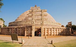 Monumentos de Sanchi, berço do budismo indiano