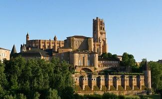 A cidade bela catedral de Albi