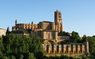 The splendid episcopal city of Albi