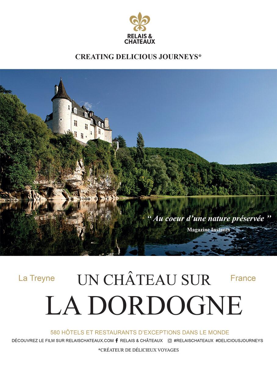 Un château sur la Dordogne