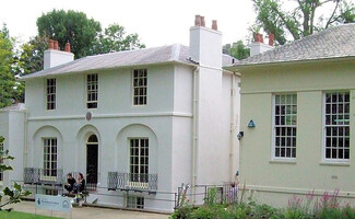 In the house of romantic poet John Keats