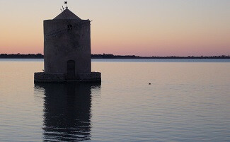 The Orbetello lagoon