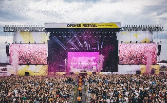 Фестиваль Open'er, Гдыня