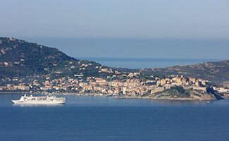 Arrivée au port de Calvi