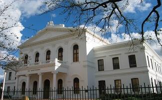 A town full of works of art, Stellenbosch