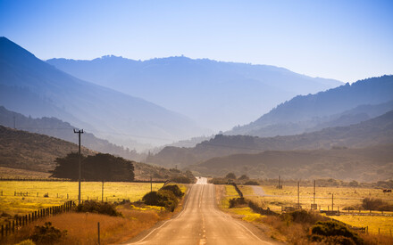 Wine country, the Napa Valley