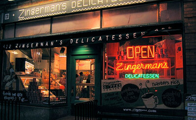 Grab a quick bite at Zingerman's Delicatessen (Ann Arbor)