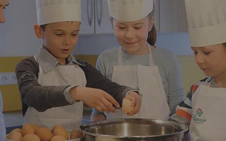 Devenir un petit chef cuisinier