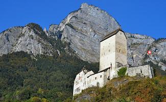 Le sentier des châteaux de Werdenberg à Sargans