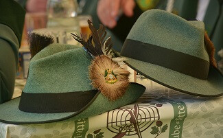 Martin Wiesner's hats in Kreuth