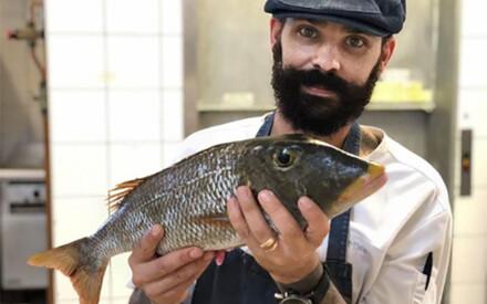Fish Unknown| Chef David Pelet,| Taha'a Island, French Polynesia
